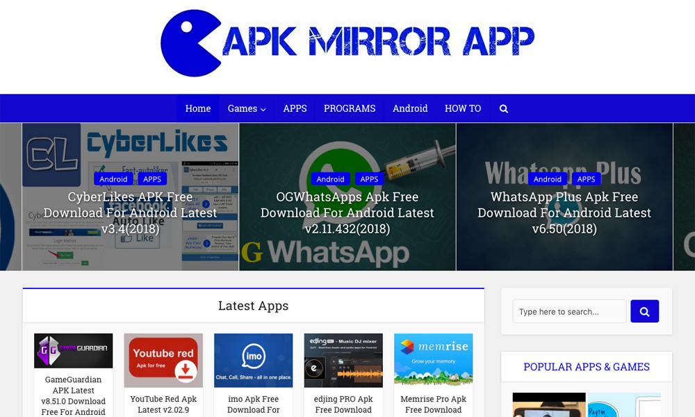 full mirror apk free download