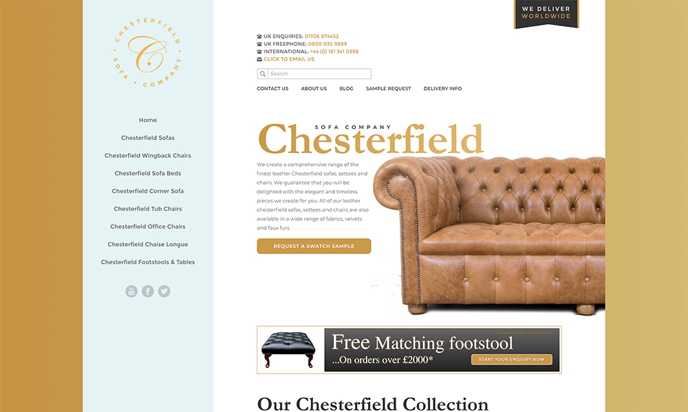 Chesterfield Sofa Company