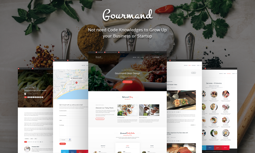 Gourmand - Food WordPress Solutions