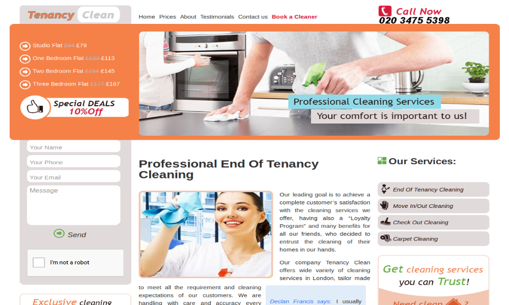 Tenancy Clean Ltd.