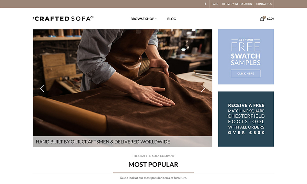 The Crafted Sofa Company