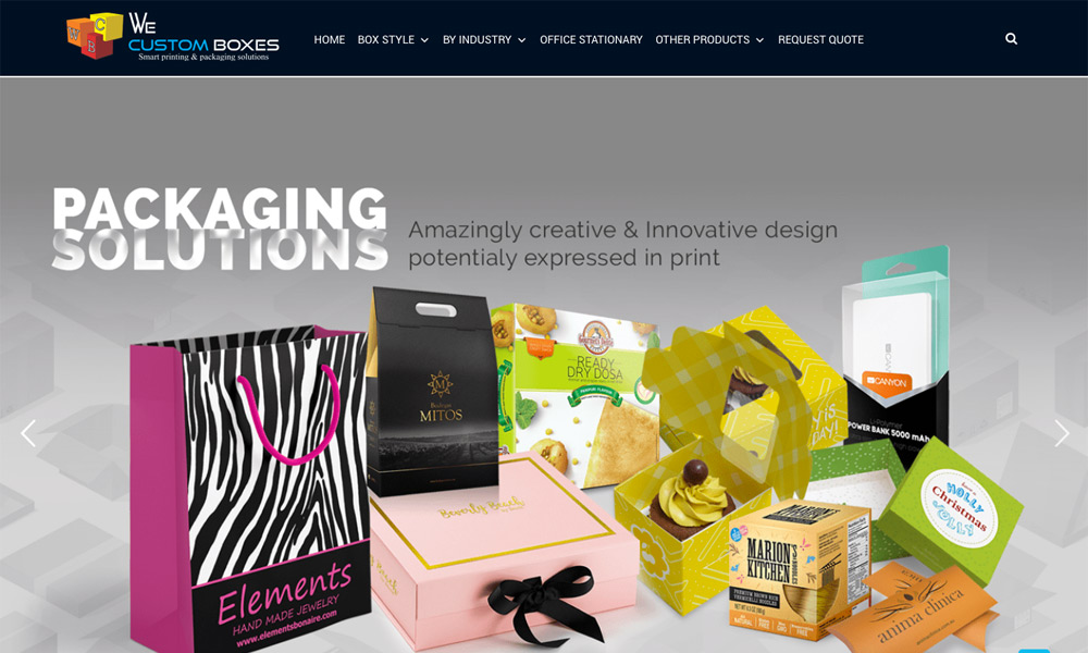 We Custom Boxes PVT Ltd