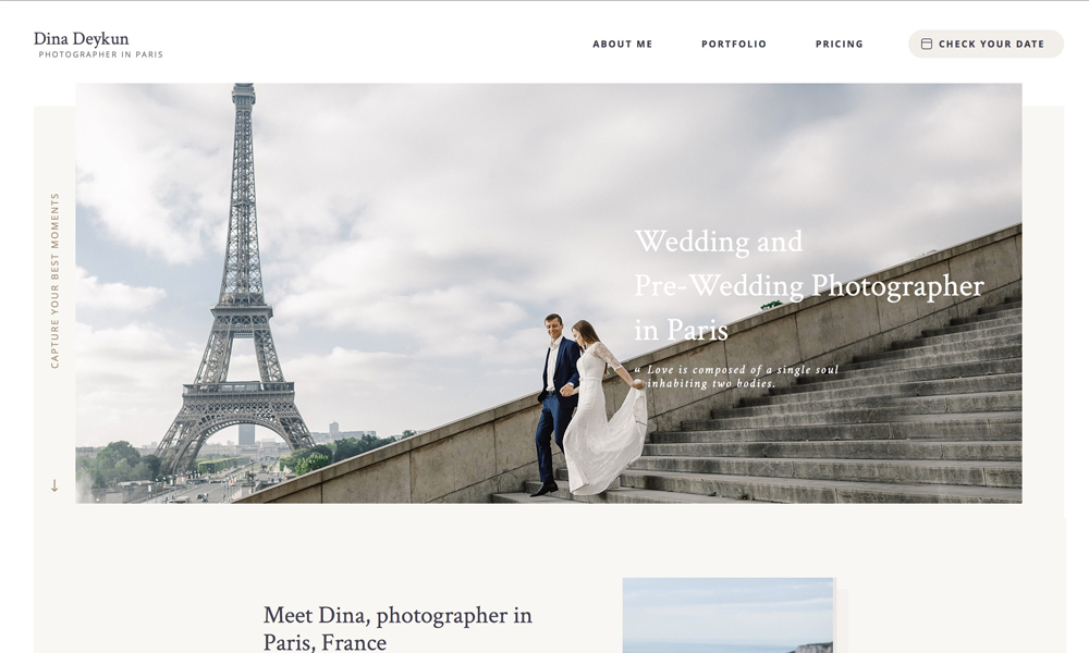 Wedding Photographer in Paris Portfolio