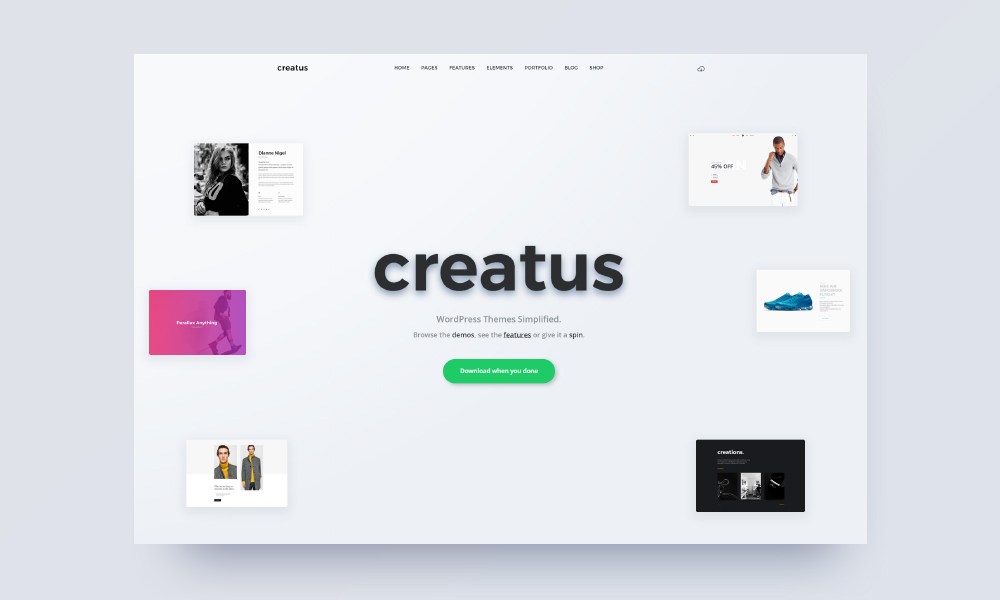 Creatus - Ultimate Multipurpose WordPress Theme