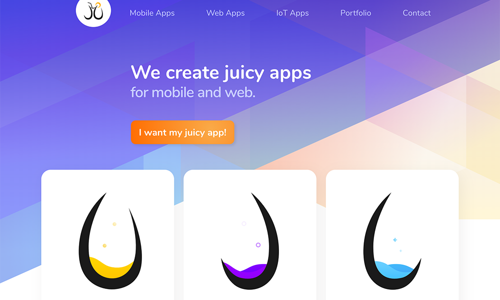 Juicymo - Mobile Apps and Web Apps Development