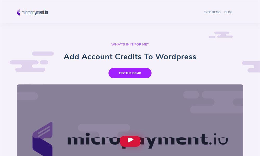 Micropayment.io - Micropayments on Wordpress