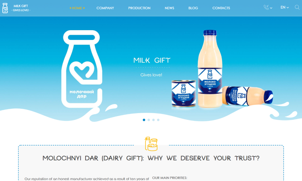 MILK GIFT - GIVES LOVE!
