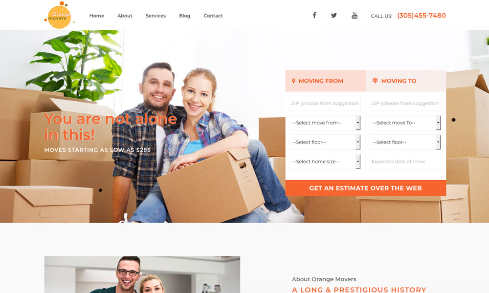 Orange Movers Miami