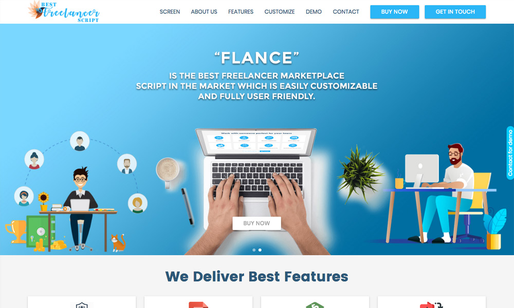 Bestfreelancerscript - Ready Made Freelance Software