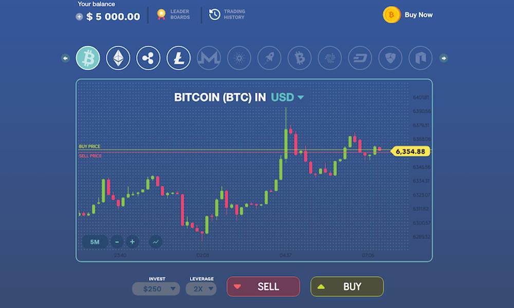 Bitcoin Flip - Free Bitcoin Trading app