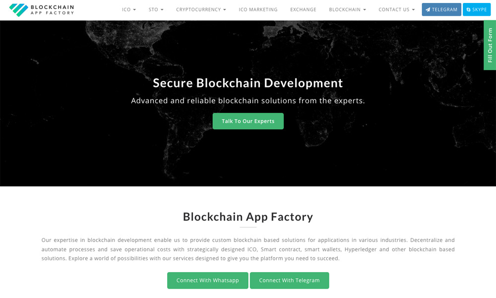 Blockchain App Factory