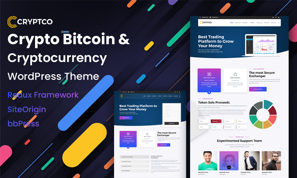 Cryptco - Cryptocurrency WordPress Theme