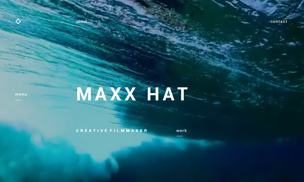 Maxx Hat - Creative filmmaker