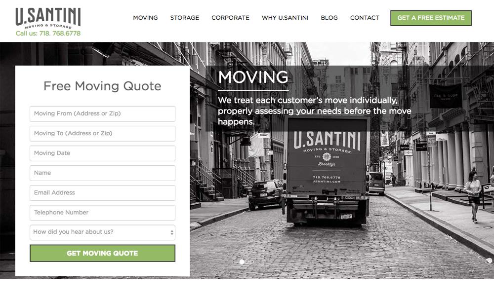 U.Santini Moving & Storage Inc