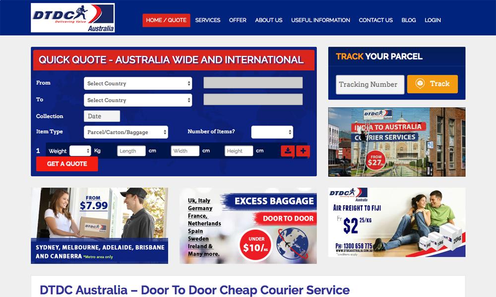 DTDC Australia Pvt Ltd