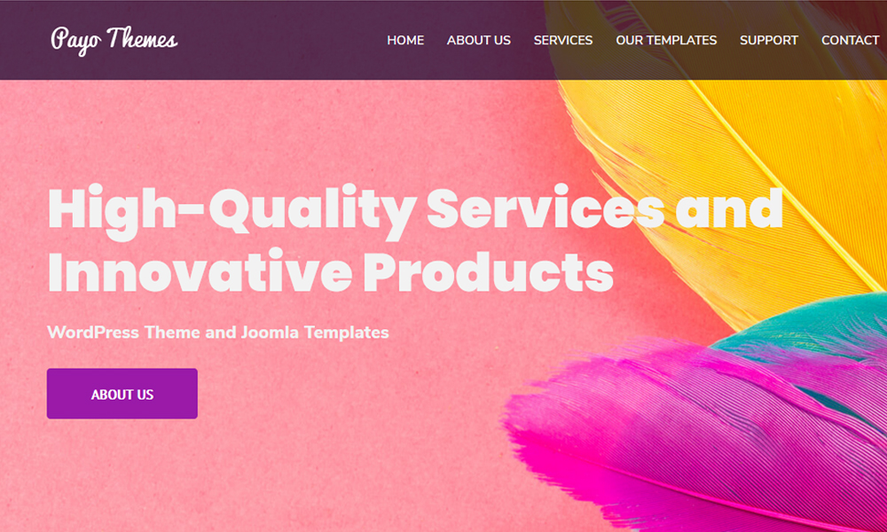 WordPress Theme | Joomla Templates | Theme WP