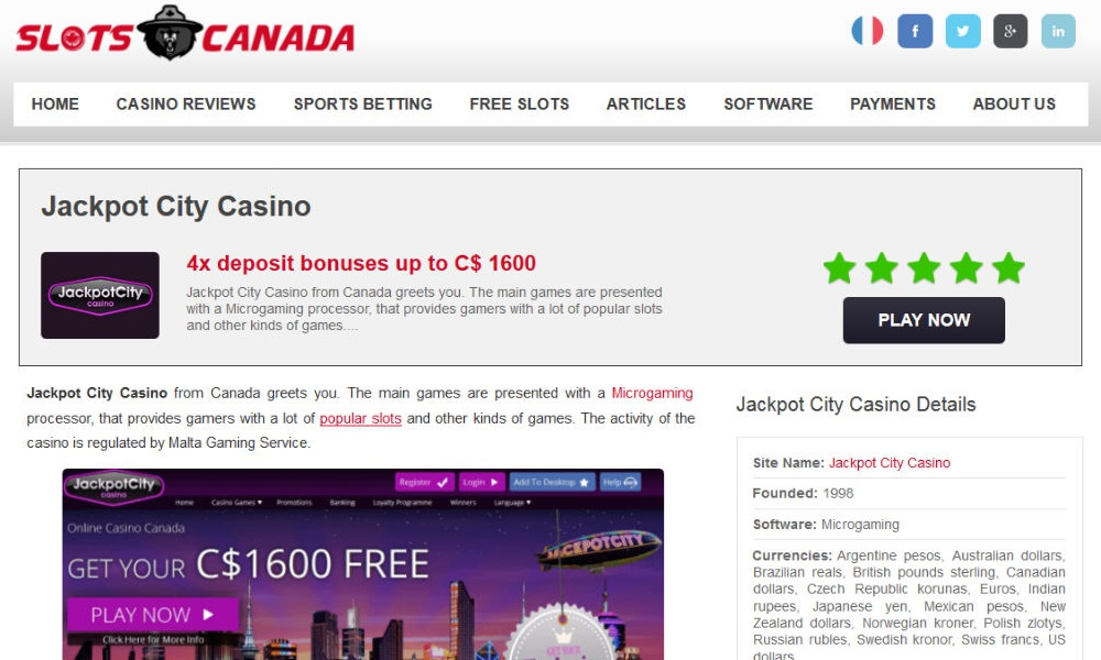 Objective Rating of Canadian Online Casinos