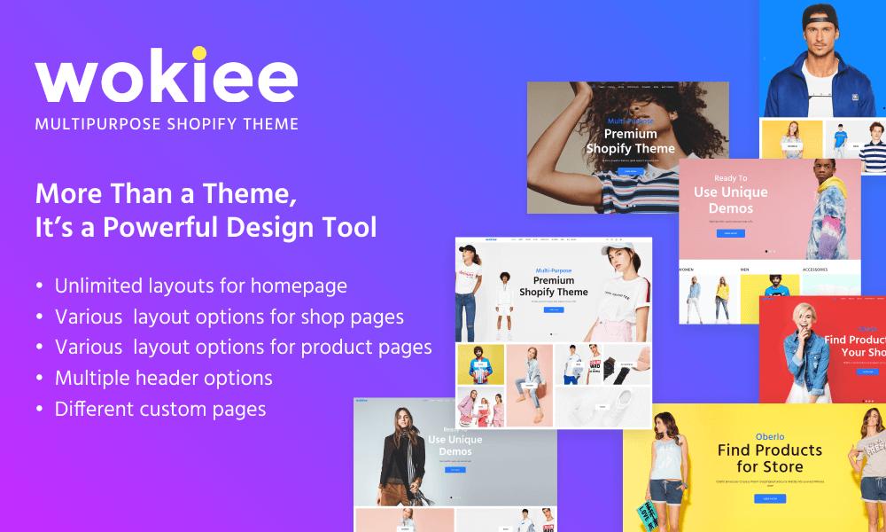 Wokiee - Premium Shopify Theme