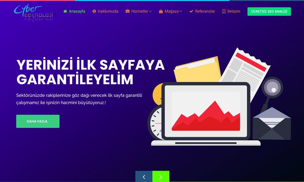 Cyber Teknoloji - Seo & Sem Expert