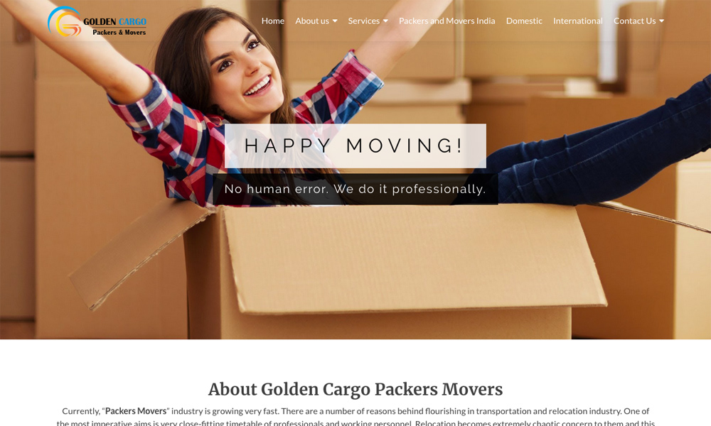 Golden Cargo Packers and Movers