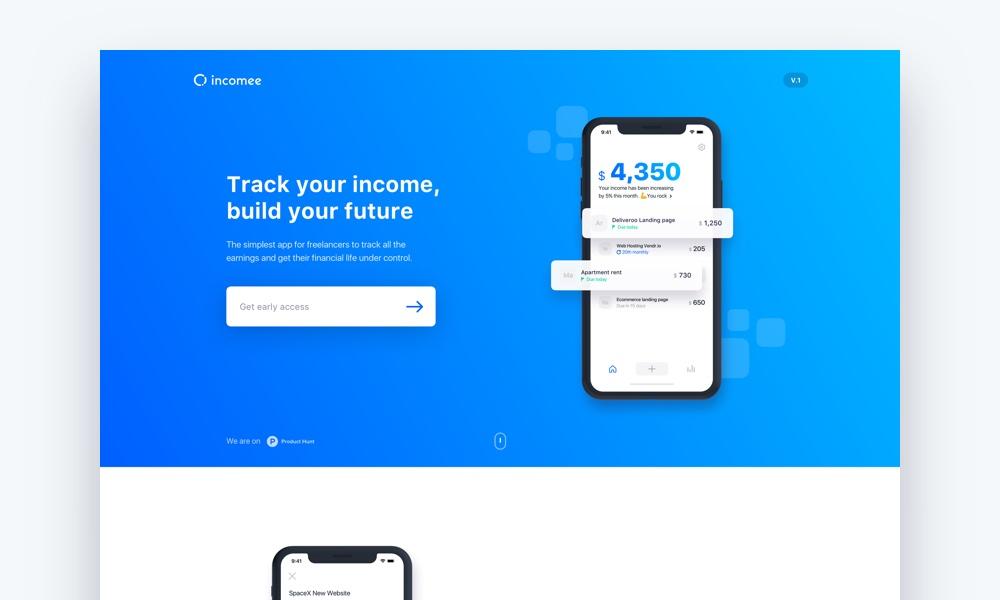 Incomee App