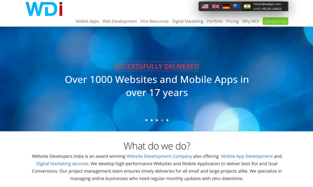 Website Developers India