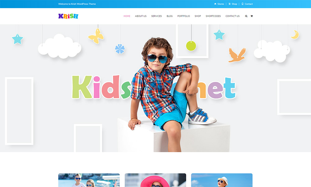 Krish School WordPress Theme