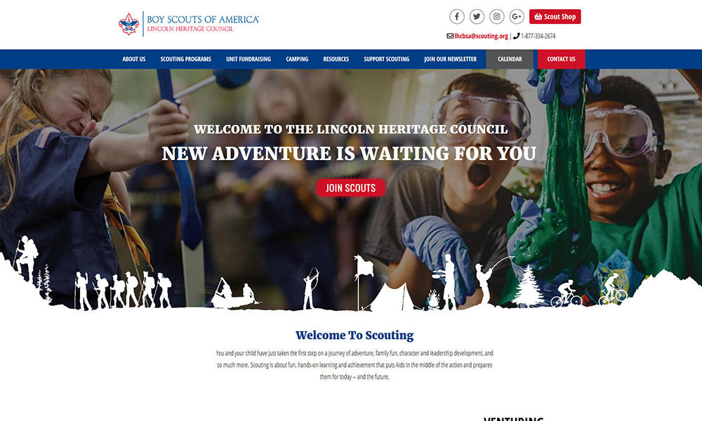 Lincoln Heritage Council - Boy Scouts of America