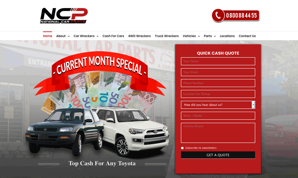 National Car Removal & Car Parts