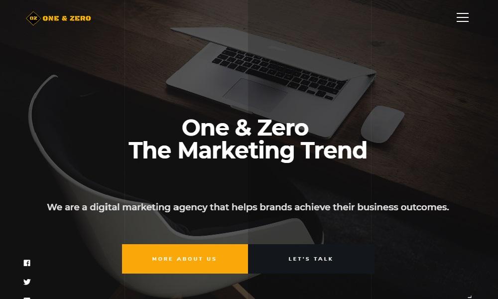 ONE & ZERO- Digital Marketing Agency