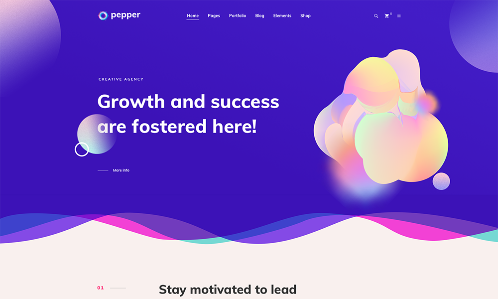 Pepper - Elegent Multi Purpose WordPress Theme