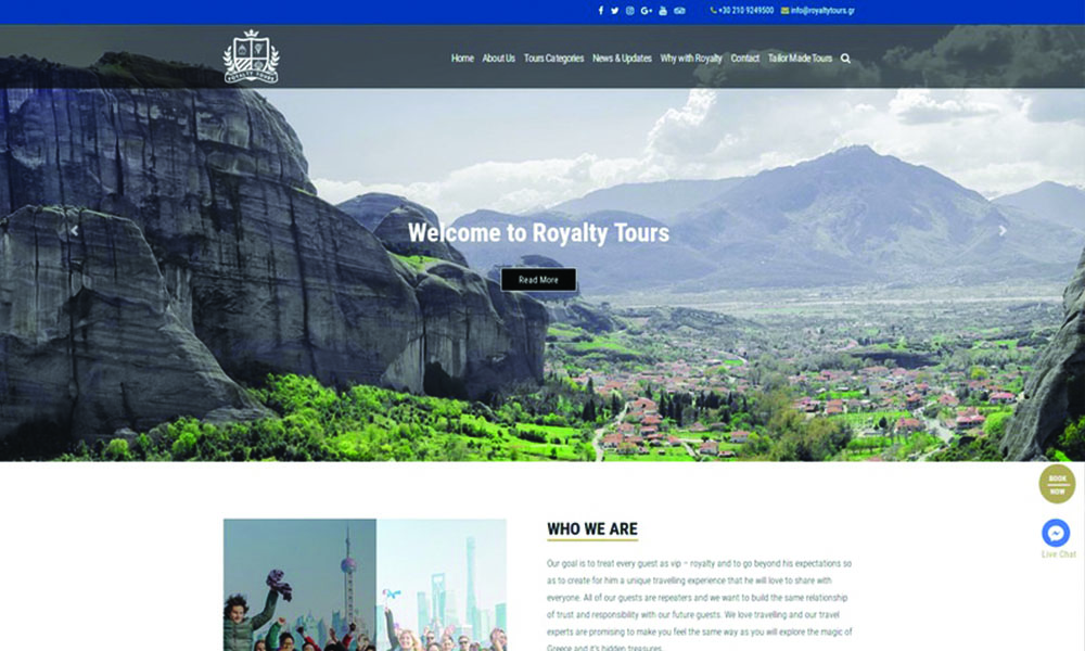 Royalty Tours