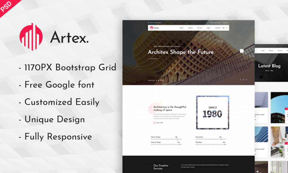 Artex - Photoshop Architecture Template