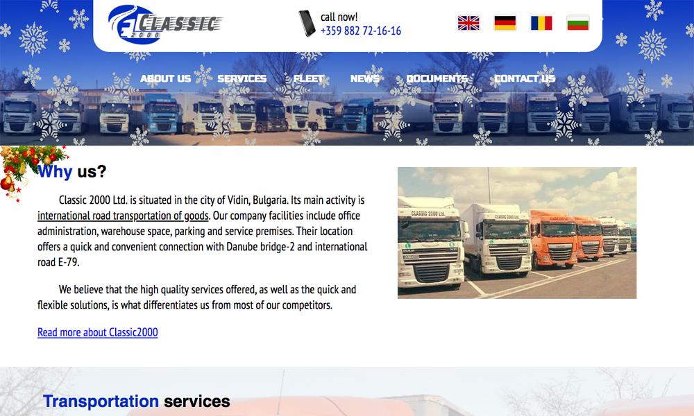 Classic2000 Transportation company