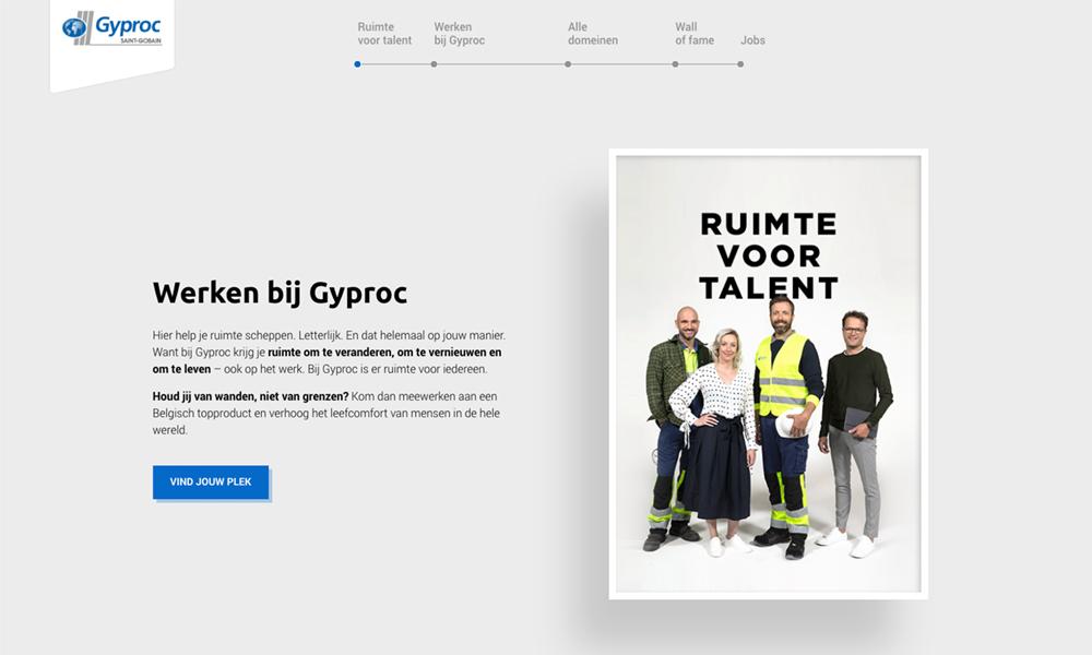 Gyproc Career Site - Belgium