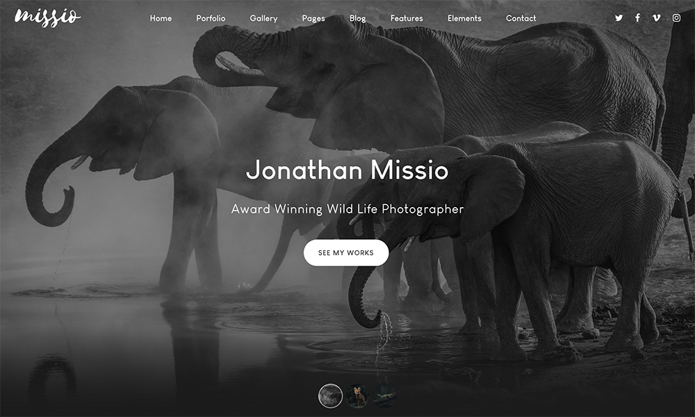 Missio Photography Template