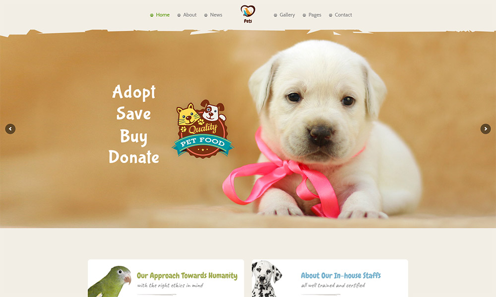 Pet World WordPress Theme