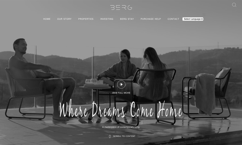 Berg Living - luxury Lifestyle