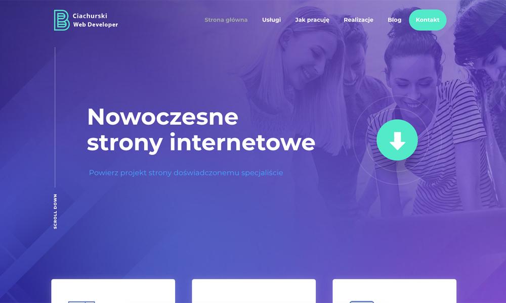 Ciachurski - strony internetowe