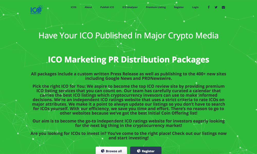 ICO Onboard
