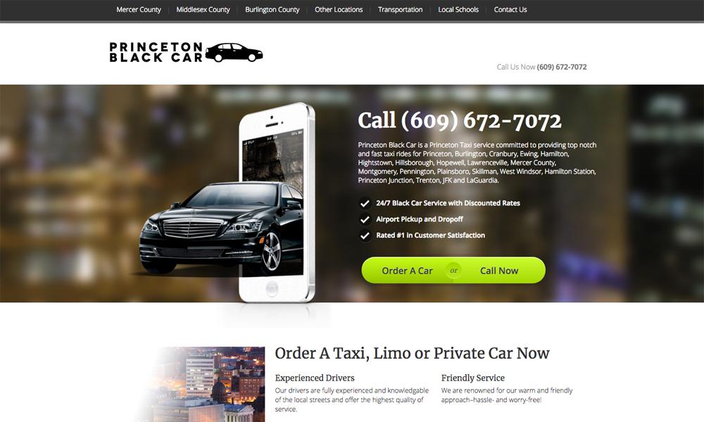 Princeton Black Car