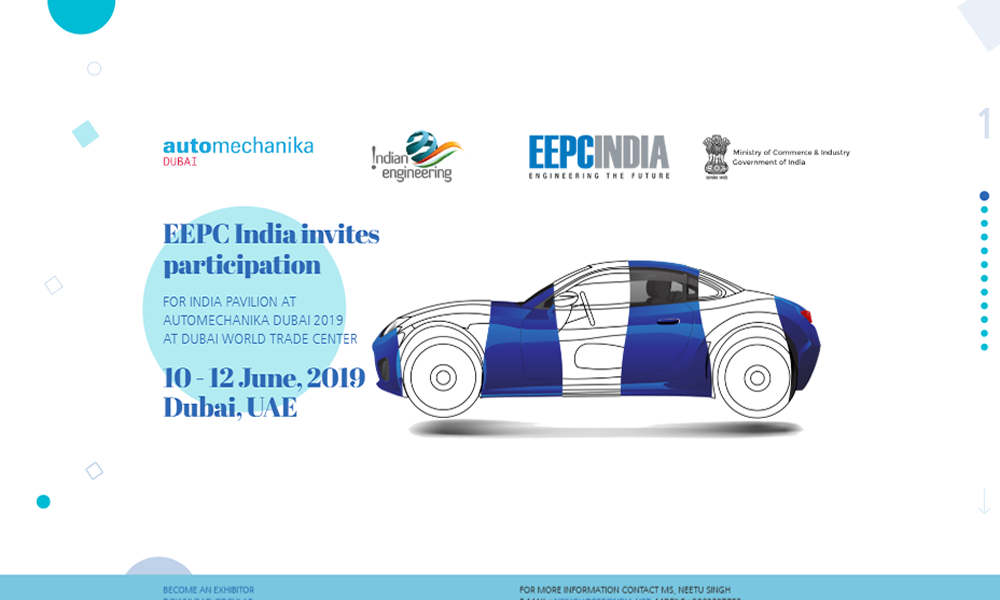 EEPC India at Automechanika Dubai 2019