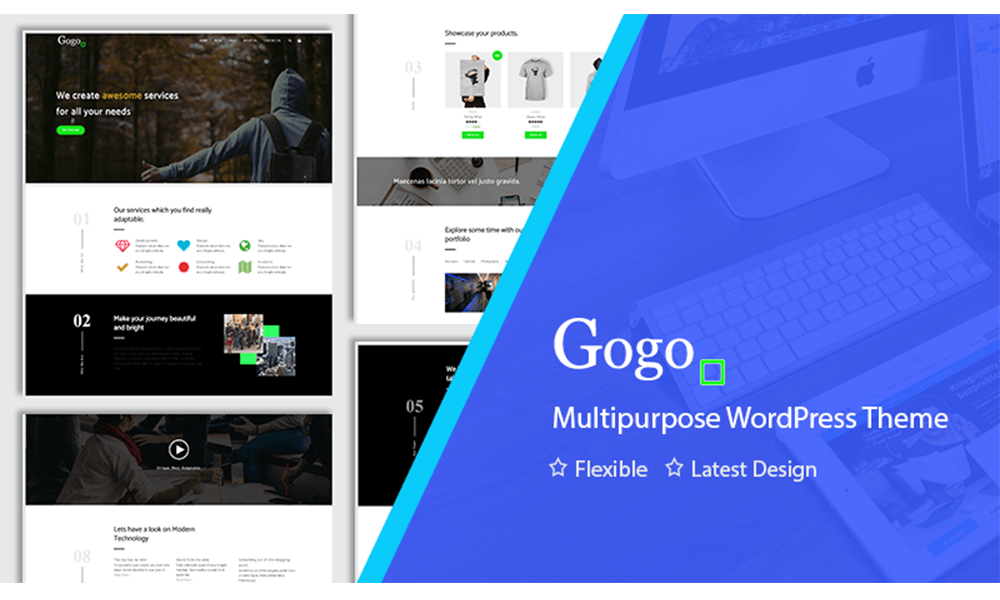 Gogo Amazing WordPress Theme