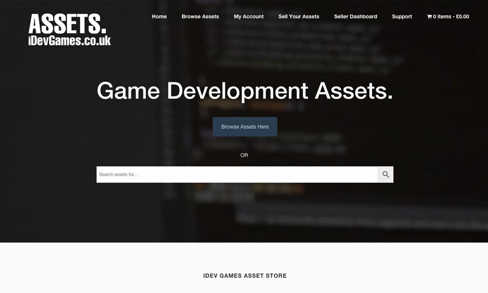 iDev Games Asset Store