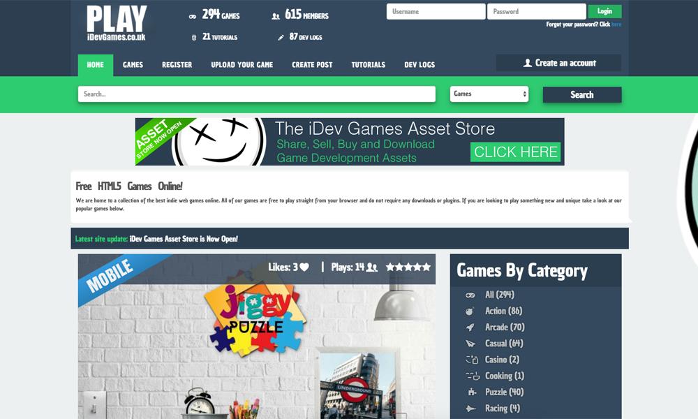 Play iDev Games