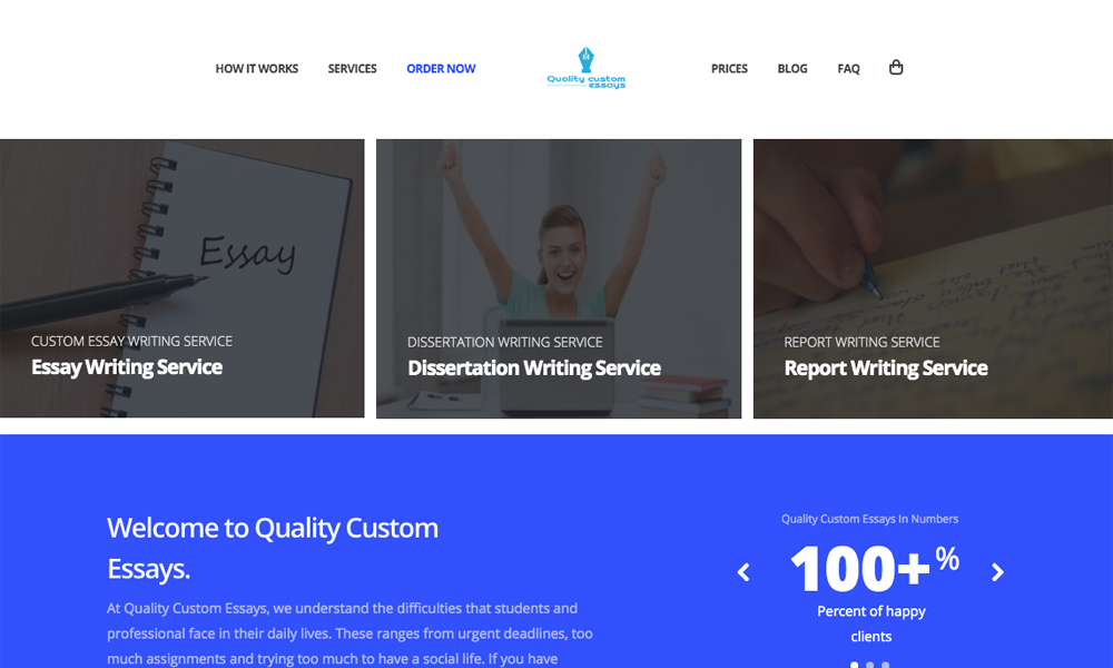 Quality Custom Essays