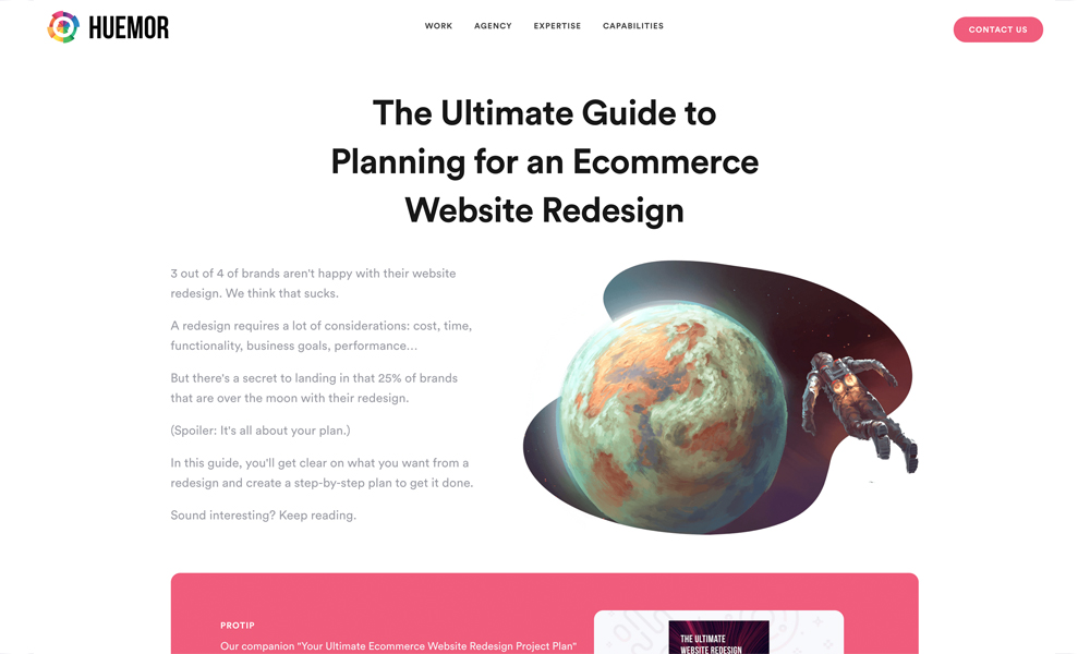 Ultimate Website Redesign