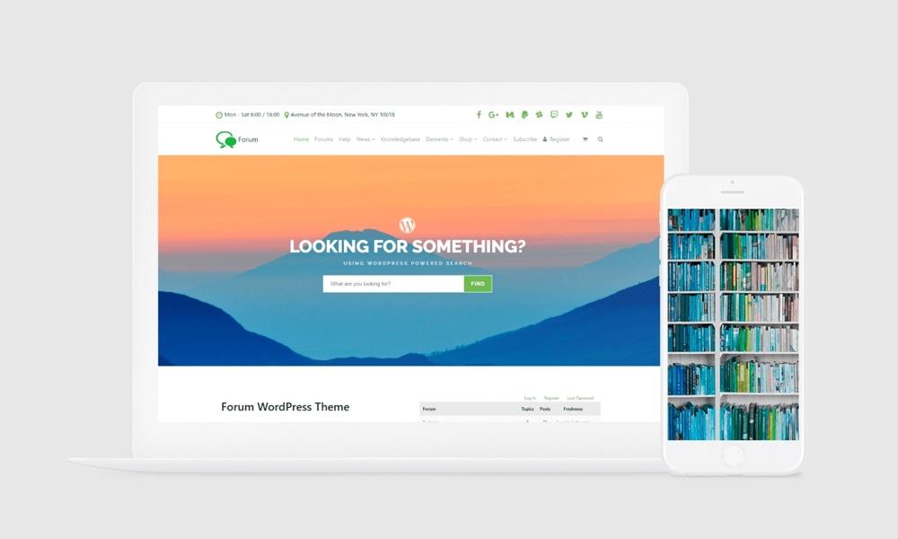 Forum WordPress Theme