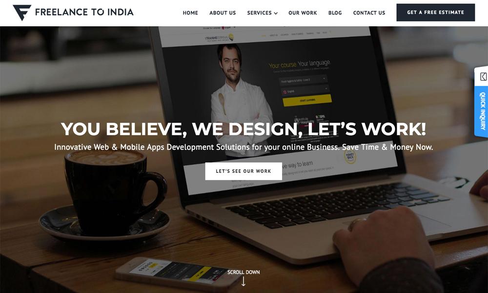 Freelance To India