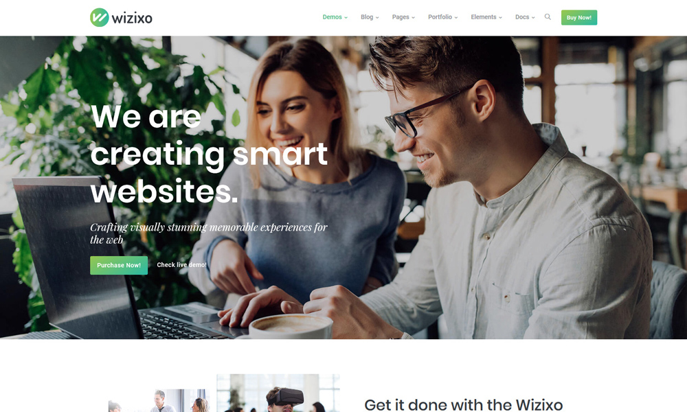Wizixo - Multipurpose Corporate Theme